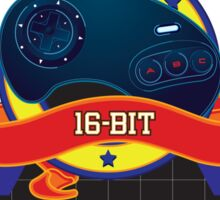 Self Taught Gamer of the 16-Bit Era Sticker