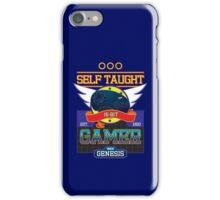 Self Taught Gamer of the 16-Bit Era iPhone Case/Skin