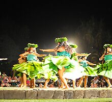 Old Lahaina Luau by K Futol