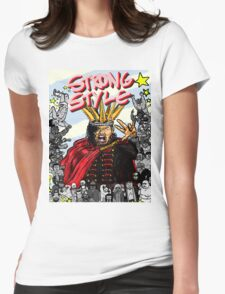 STRONG STYLE Womens Fitted T-Shirt