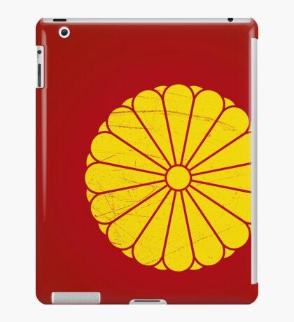Japanese Emperor seal iPad Case/Skin