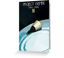 Project Gemini Greeting Card