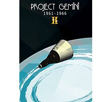 Project Gemini Photographic Print