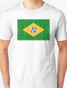 Brazil football field T-Shirt