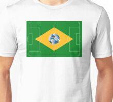 Brazil football field Unisex T-Shirt