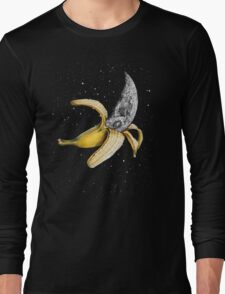 Moon Banana! Long Sleeve T-Shirt