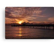 Sunrise in Fort Lauderdale, As Is Canvas Print