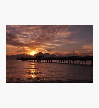 Sunrise in Fort Lauderdale, As Is Photographic Print