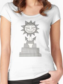 God of Sun Women's Fitted Scoop T-Shirt