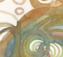 Spirals  Sticker