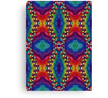 Psychedelic Abstract colourful work 240(Tile) Canvas Print