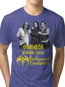 SIFA04 HOLLYWOOD VAMPIRES Tour 2016 Tri-blend T-Shirt