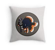 Goldfish Moriarty Throw Pillow