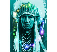 Magical Indian Chief Photographic Print