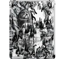 Gone in a splash, skull pattern iPad Case/Skin