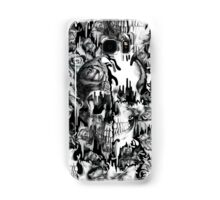 Gone in a splash, skull pattern Samsung Galaxy Case/Skin