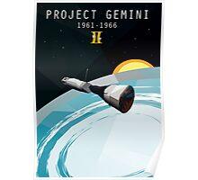 Gemini and Agena Poster