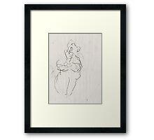 Dancing Figure  Framed Print