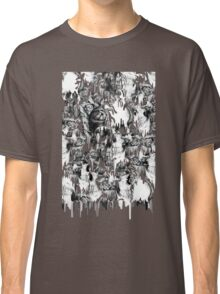 Gone in a splash, skull pattern Classic T-Shirt