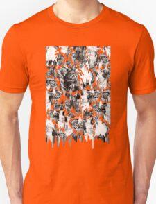 Gone in a splash, skull pattern Unisex T-Shirt