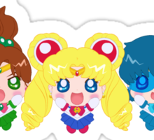 In the name of the moon we will punish you! Sticker