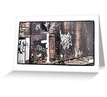 OH Graffiti Greeting Card