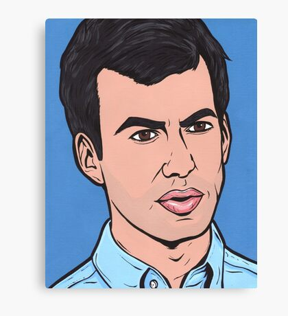 Nathan For You Canvas Print