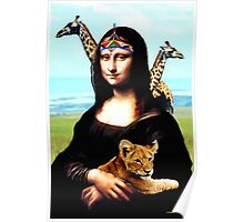 Gioconda Travelling - Africa Poster