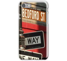 Corner of Grove and Bedford (Friends Building) NYC iPhone Case/Skin