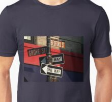 Corner of Grove and Bedford (Friends Building) NYC Unisex T-Shirt