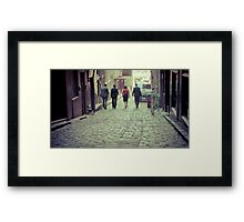 Its just business Framed Print