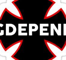 Drugdependent - Independent Spoof Sticker
