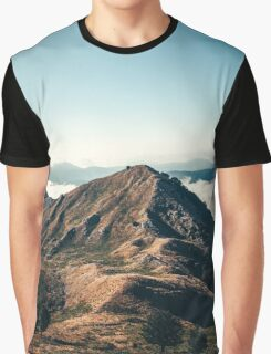 Mountains in the background XXII Graphic T-Shirt