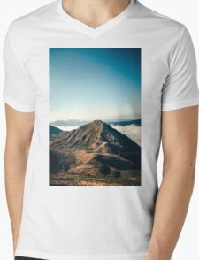 Mountains in the background XXII Mens V-Neck T-Shirt