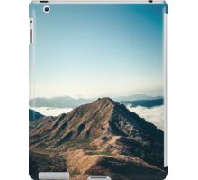 Mountains in the background XXII iPad Case/Skin