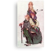the malfoy's - harry potter Canvas Print