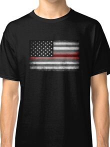The Thin Red Line - American Firefighter Classic T-Shirt