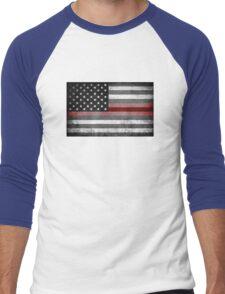 The Thin Red Line - American Firefighter Men's Baseball ¾ T-Shirt