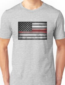 The Thin Red Line - American Firefighter Unisex T-Shirt