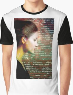 She Walks in Beauty Graphic T-Shirt