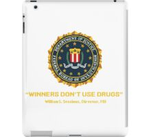 Winners Don't Use Drugs iPad Case/Skin