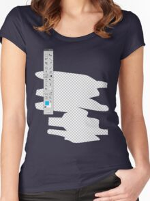 photoshop Women's Fitted Scoop T-Shirt