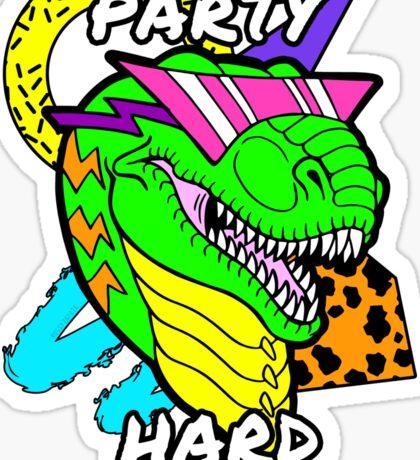 Party Hard T-Rex Sticker