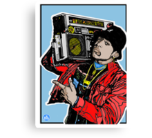 LL COOL J: Radio (1985) Canvas Print