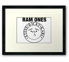 Rockbusters Ram Ones  Framed Print