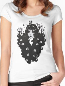 Night Song Women's Fitted Scoop T-Shirt