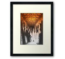 Lost amongst giants Framed Print