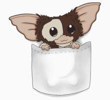 Pocket Mogwai V2 Baby Tee