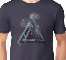 Abstract Geometry: The Portal (White Smoke) Unisex T-Shirt