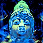 Buddha Blue by ALAN MCCRAY